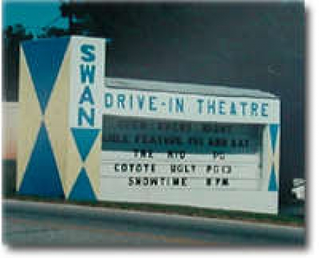 Swan Drive-In Movie Theater