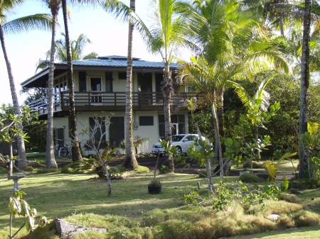 Exterior of Pualani Home in Kapoho, Hawaii