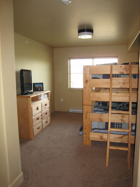 Extra Bedroom with Full Bunk Beds and Full Pull Out Trundles