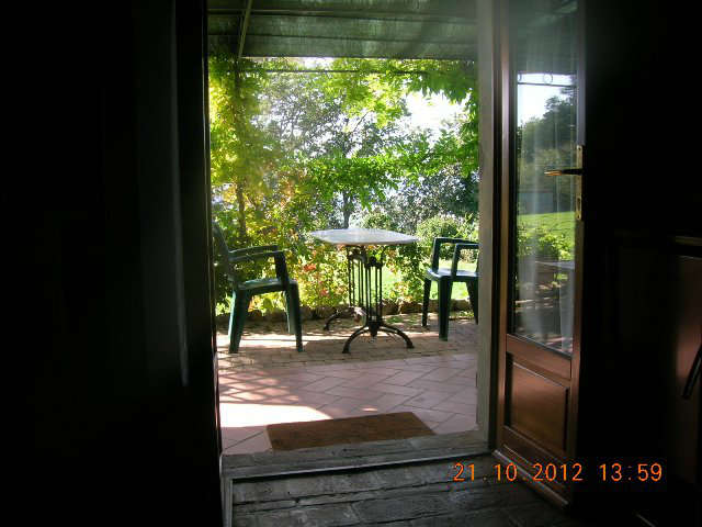 view to porch